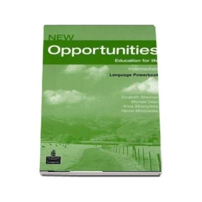 New Opportunities Intermediate Power Book Pack de Elizabeth Sharman