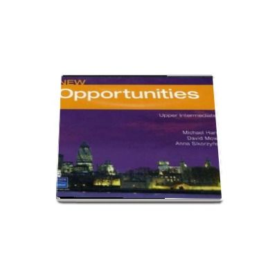 New Opportunities Upper Intermediate Class Audio CD de Michael Harris