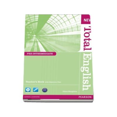 New Total English Pre-Intermediate Teachers Book and CD Pack de Diane Naughton