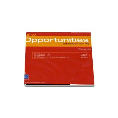 Opportunities Global Elementary Class CD New Edition (3 CDs) de Michael Harris