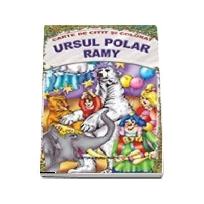 Ursul polar Ramy - Carte de citit si colorat