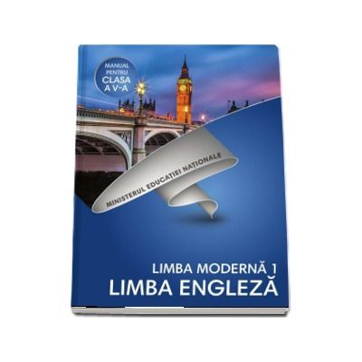 Limba Franceza, limba moderna 1, manual pentru clasa a V-a de Diana lonita