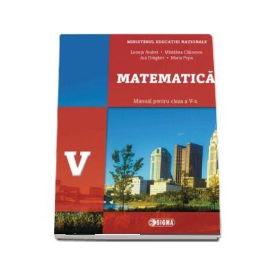 Matematica, manual pentru clasa a V-a de Lenuta Andrei (Contine editia digitala)