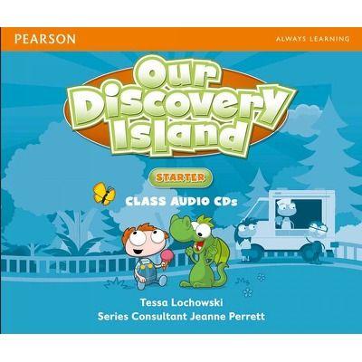 Our Discovery Island Starter Audio CD de Tessa Lochowski