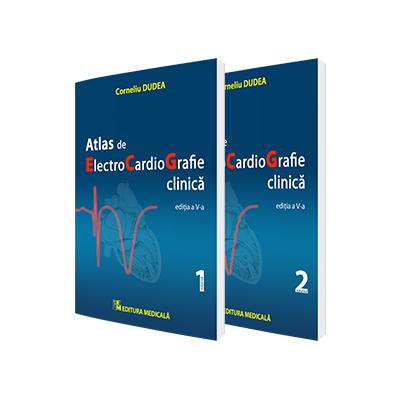 Corneliu Dudea, Atlas de electrocardiografie clinica - Editia a V-a, in doua volume