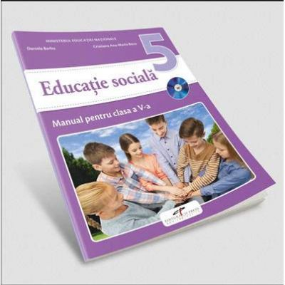 Educatie sociala, manual pentru clasa a V-a de Daniela Barbu (Contine editia digitala)