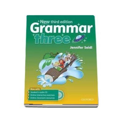 Grammar three Students Book with Audio CD - New third edition (Jennifer Seidl)