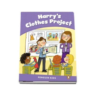 Harrys Clothes Project CLIL - Penguin Kids, level 5 de Marie Crook