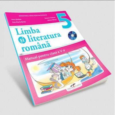 Limba si literatura romana, manual pentru clasa a V-a de Anca Serban (Contine editia digitala)