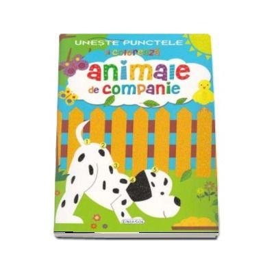 Uneste punctele si coloreaza - Animale de companie