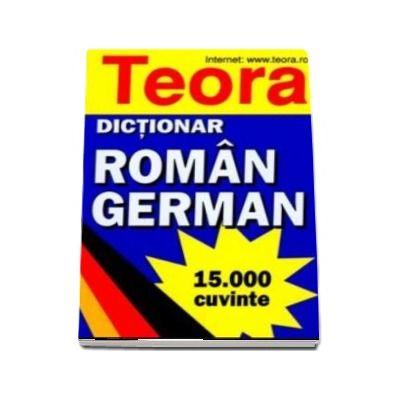 Dictionar roman - german 15000 cuvinte