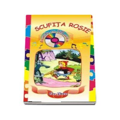 Scufita Rosie, poveste cu CD audio de Charles Perrault (Colectia Povesti)