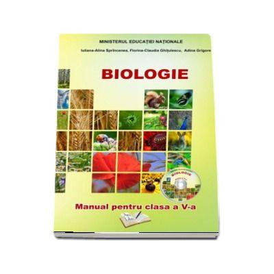 Biologie - Manual pentru clasa a V-a de Iuliana Alina Sprincenea (Contine si editia digitala)