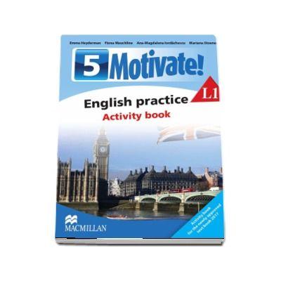 Emma Heyderman, Curs de Limba engleza, Limba moderna 1 - Auxiliar pentru clasa a V-a. English practice - Activity book L1 (5 Motivate!)