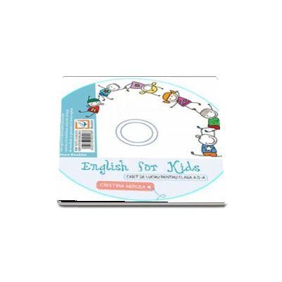 English for kids CD-ul aferent caietului de lucru clasa pentru clasa a II-a de Cristina Mircea (Editia 2017)