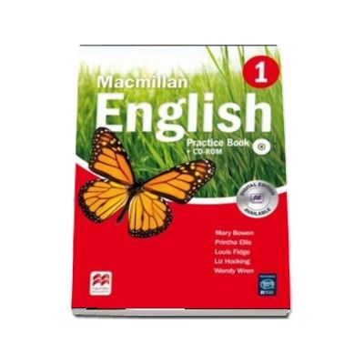Macmillan English 1 - Practice Book with CD-ROM (Digital edition available)