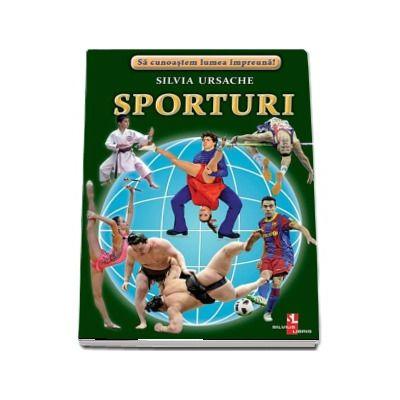 Sporturi - Sa cunoastem lumea impreuna! (Contine 16 cartonase cu imagini color) de Silvia Ursache