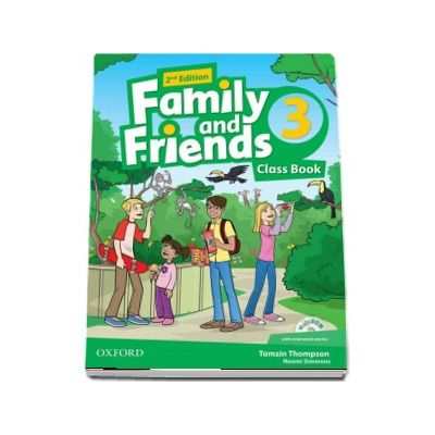 Tamzin Thompson, Family and Friends 3. Class Book, 2nd Edition - MultiROM with animated stories