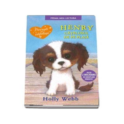 Henry, catelusul de pe plaja de Holly Webb