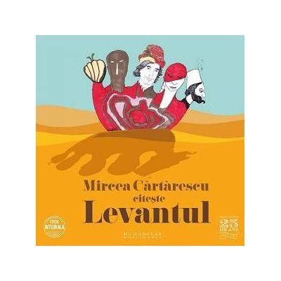 Mircea Cartarescu citeste Levantul, CD audio - Editie integrala formata din 5 CD-uri audio