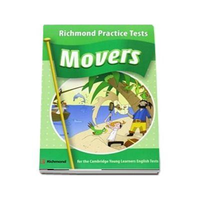 Cambridge YLE Movers Practice Tests Students Book with CD - (Auxiliar recomandat pentru elevii din invatamantul primar)