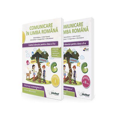 Set caiete - Comunicare in limba romana. Caietul elevului, pentru clasa a II-a - Semestrele I si II - Mirela Mihaescu