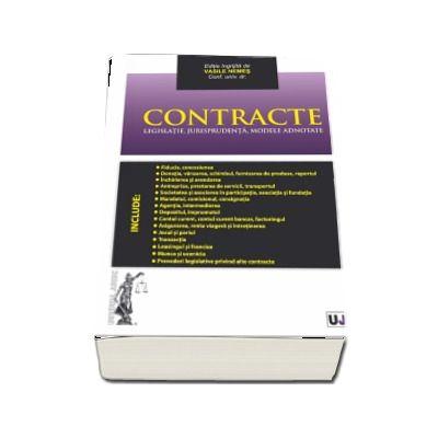 Contracte. Legislatie, jurisprudenta, modele adnotate de Vasile Nemes