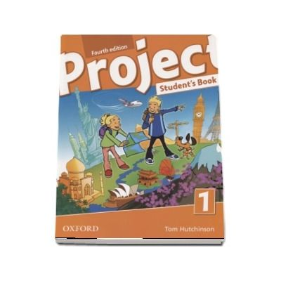 Project, Fourth Edition Level 1 Students Book de Tom Hutchinson (Editia 2018)