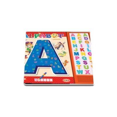 Carte cu sunete - Alfabet - poezii