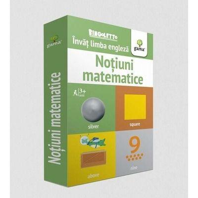 Invat limba engleza - Notiuni matematice (Carduri)