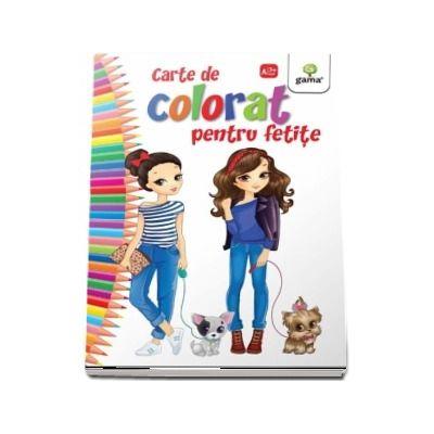 Carte de colorat pentru fetite - Editia 2018