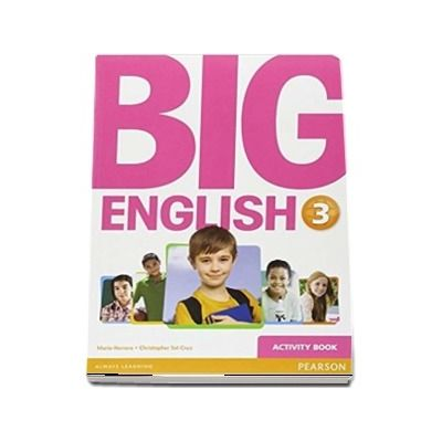 Curs de limba engleza, Big English 3 - Activity book de Mario Herrera