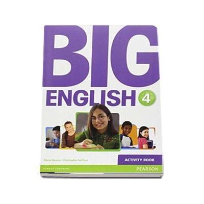 Curs de limba engleza, Big English 4 - Activity book de Mario Herrera
