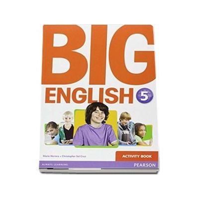 Curs de limba engleza, Big English 5 - Activity book de Mario Herrera