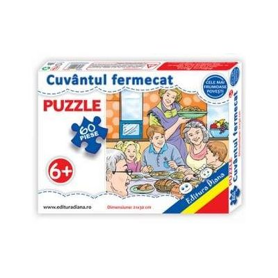 Cuvantul fermecat, puzzle cu 60 piese