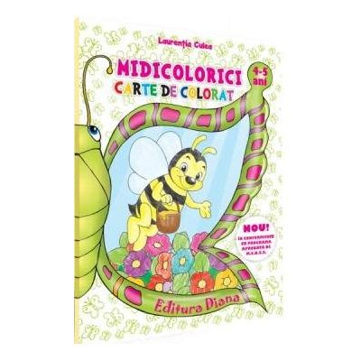 MINICOLORICI - Carte de colorat pentru 4-5 ani (Laurentia Culea)