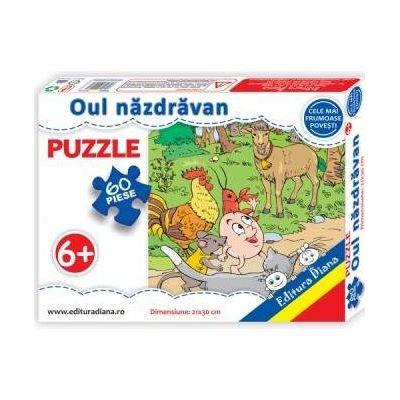 Puzzle - Oul nazdravan - Contine 60 piese