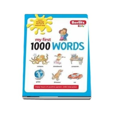 Berlitz Language: My First 1000 Words English