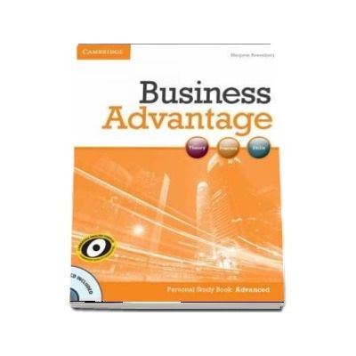Business Advantage. Advanced Personal Study (Book with Audio CD) de Marjorie Rosenberg