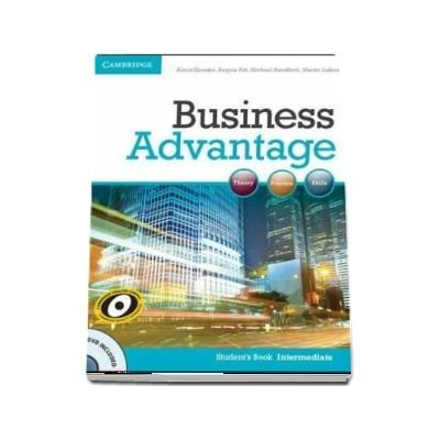 Business Advantage. Intermediate Student's (Book with DVD)