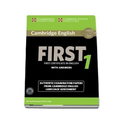 Cambridge English First 1 for Revised Exam from 2015 Student's Book Pack (Student's Book with Answers and Audio CD)