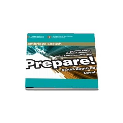 Cambridge English Prepare! Level 2 Class Audio CD