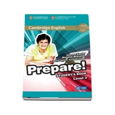 Cambridge English Prepare! Level 3 Student's Book - Joanna Kosta