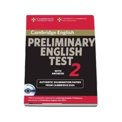 Cambridge Preliminary English Test 2 Self-study Pack - Cambridge Preliminary English Test 2 Self-study Pack Level 2