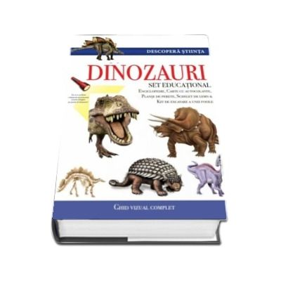 Descopera stiinta. Dinozauri. Set educational