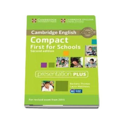Compact First for Schools Presentation Plus (DVD-ROM) - Laura Matthews and Barbara Thomas