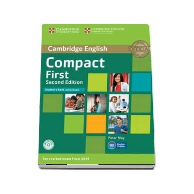 Compact First Student's Book with Answers with CD-ROM (Peter May)
