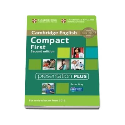 Compact First Presentation Plus (DVD-ROM) - Peter May