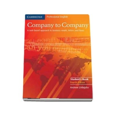 Company to Company Student's Book - Andrew Littlejohn