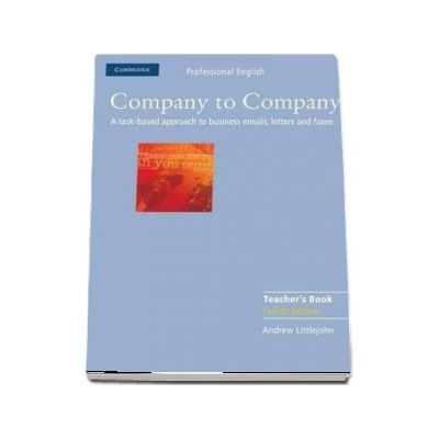 Company to Company Teacher's Book (Andrew Littlejohn)